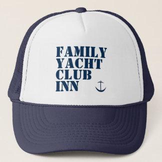 VERSION 2 de casquette d'auberge de club de yacht