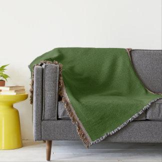Vert - couverture de jet - HAMbyWhiteGlove