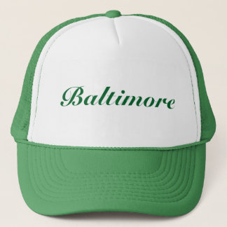 Vert de Baltimore Casquette