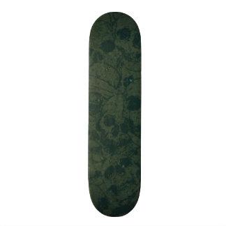Vert de crânes skateboard  20 cm