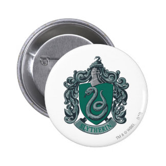 Vert de crête de Harry Potter | Slytherin Badge Rond 5 Cm