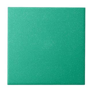 Vert de lucite de PANTONE avec le scintillement Petit Carreau Carré