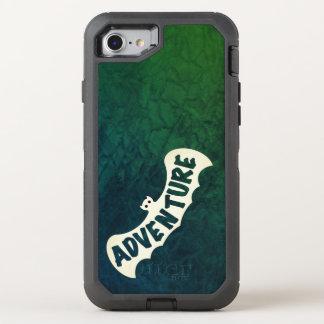 VERT de SIGNAL d'AVENTURE de CHAUVE-SOURIS par Coque Otterbox Defender Pour iPhone 7