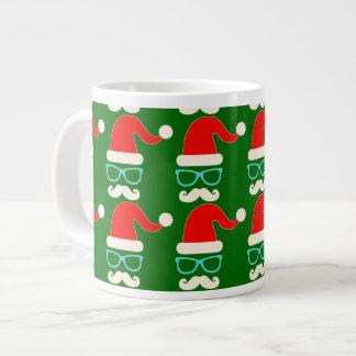 vert de tasse de porcelaine de Noël de père Noël