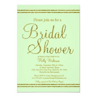 Vert en bon état et invitation nuptiale de wedding