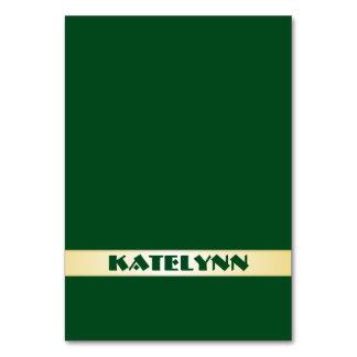 Vert et cartes nommées d'endroit de modèle d'or