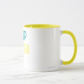 Vert et jaune de Supergirl Mug