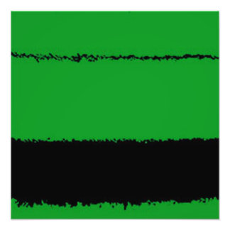 vert et noir impression photo