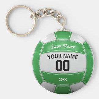 Vert nommé d'équipe de l'année du joueur de porte-clé rond