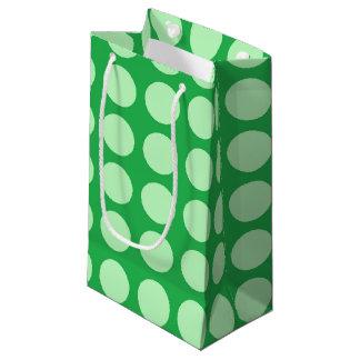 Vert vert doux de pois petit sac cadeau
