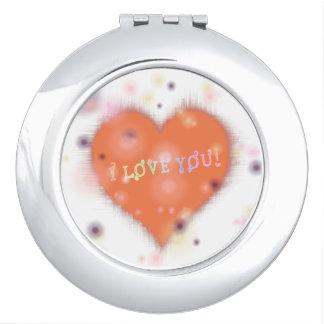 """Vertel de """"liefde van I u"""" tien keer per dag Reisspiegeltjes"""