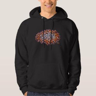 Verwar wildstyle graffiti hoodie