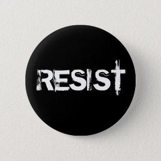Verzet tegenme ronde button 5,7 cm