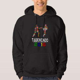 Veste À Capuche 2016 : Le Taekwondo