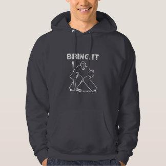 Veste À Capuche Amenez-lui le gardien de but d'hockey