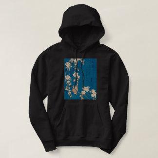 Veste À Capuche Bouvreuil de Hokusai et art pleurant de GalleryHD