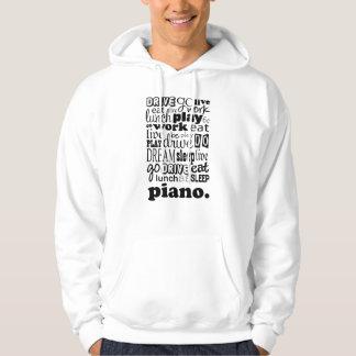 Veste À Capuche Cadeau de piano