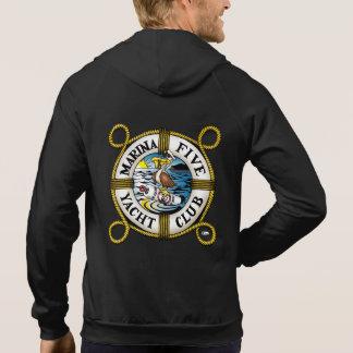 Veste À Capuche Club de yacht de la marina cinq