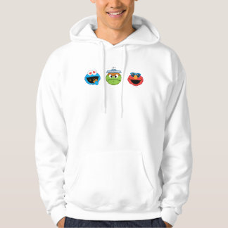 Veste À Capuche Copains d'Emoji de Sesame Street