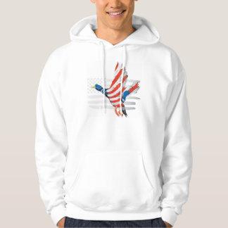 Veste À Capuche Drapeau des Etats-Unis