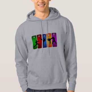 Veste À Capuche Emblème multicolore de karaté
