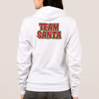 Veste À Capuche Équipe Père Noël