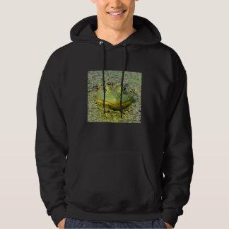 Veste À Capuche Grenouille verte en lenticule, Canada