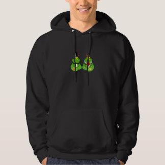 Veste À Capuche grenouilles de froggy de jeunes mariés