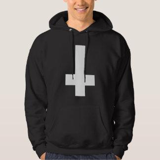 Veste À Capuche Hail satan - Pentagram - croix - 666 - Hoodie