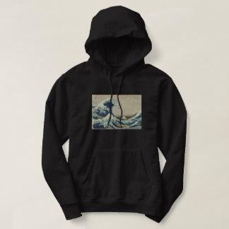 Veste À Capuche Hokusai la grande vague outre de l'art de Kanagawa