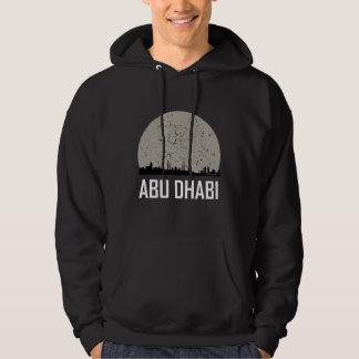 Veste À Capuche Horizon de pleine lune d'Abu Dhabi