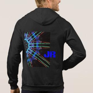 Veste À Capuche JR bleu électrique