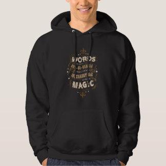 Veste À Capuche Les mots du charme   de Harry Potter sont notre la