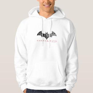 Veste À Capuche Logo de ville de Batman Arkham