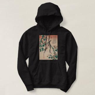Veste À Capuche Moineau de Hokusai Java sur l'art de GalleryHD de