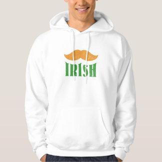Veste À Capuche Moustache irlandaise