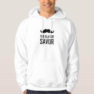 Veste À Capuche Moustache que la saveur Savor