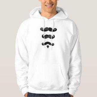 Veste À Capuche Moustaches drôles