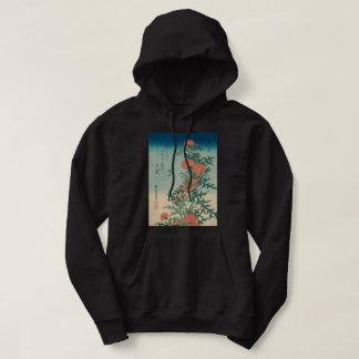 Veste À Capuche Pie-grièche de Hokusai et art béni de GalleryHD de