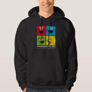 Veste À Capuche Sesame Street | les enfants frais originaux