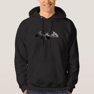 Veste À Capuche Symbole de batte de ville d'Arkham
