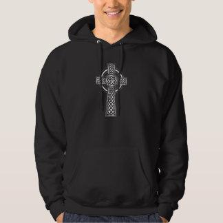 Veste À Capuche Tatouage celtique de croix de noeud