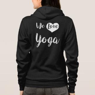 """Veste À Capuche «We love Yoga """""""