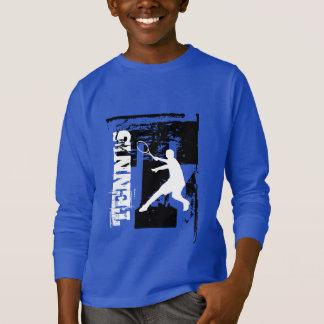Vêtements personnalisés de tennis pour les enfants t-shirt