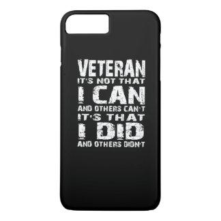 Vétéran Coque iPhone 7 Plus