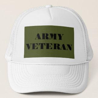 Vétéran d'armée de casquette