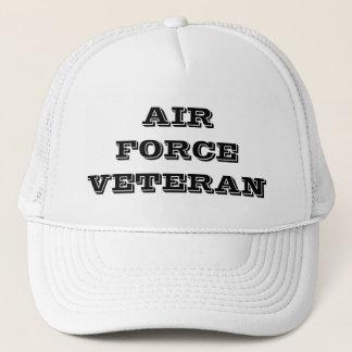 Vétéran de l'Armée de l'Air de casquette