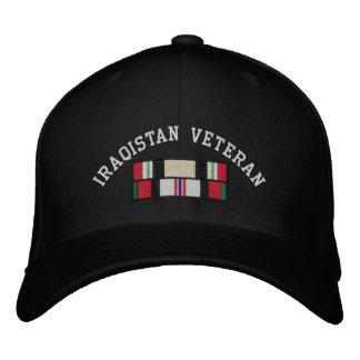 Vétéran de l'Irak Afghanistan Casquette Brodée