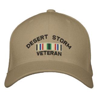 Vétéran de tempête du désert casquette brodée