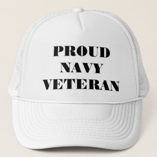 Vétéran fier de marine de casquette